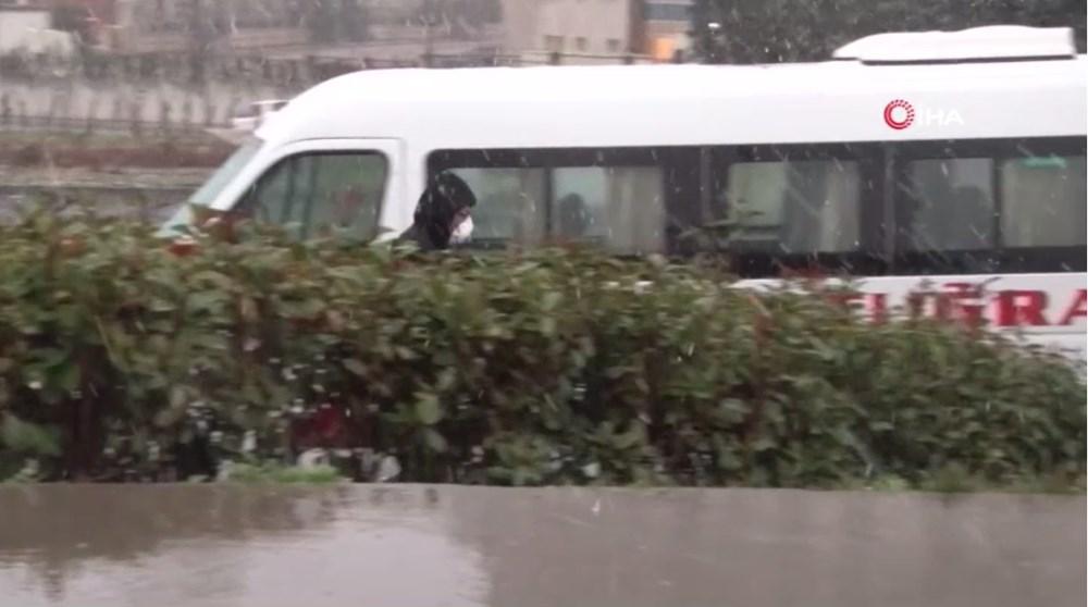 İstanbul'da beklenen kar yağışı başladı - 6