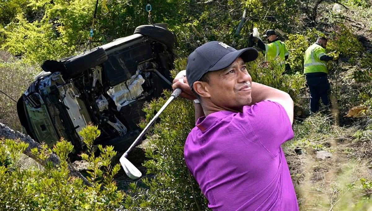 Tiger Woods'un neden kaza yaptığı belirlendi: Aşırı hız