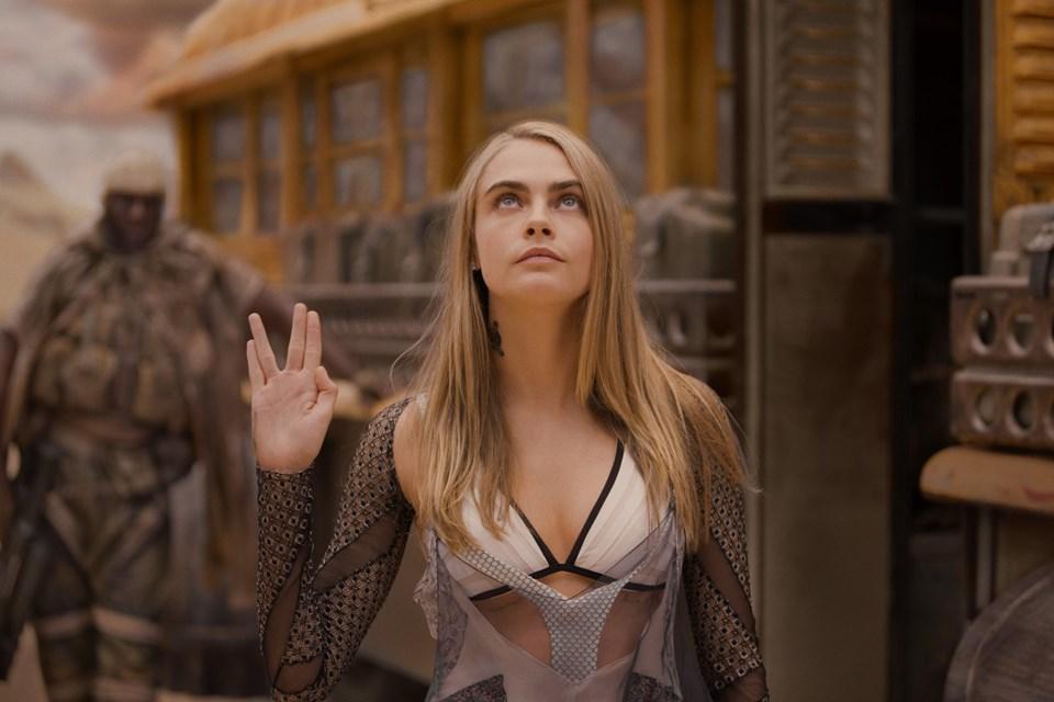 Cara son olarakValerian ve Bin Gezegen İmparatorluğu filminde rol almıştı.