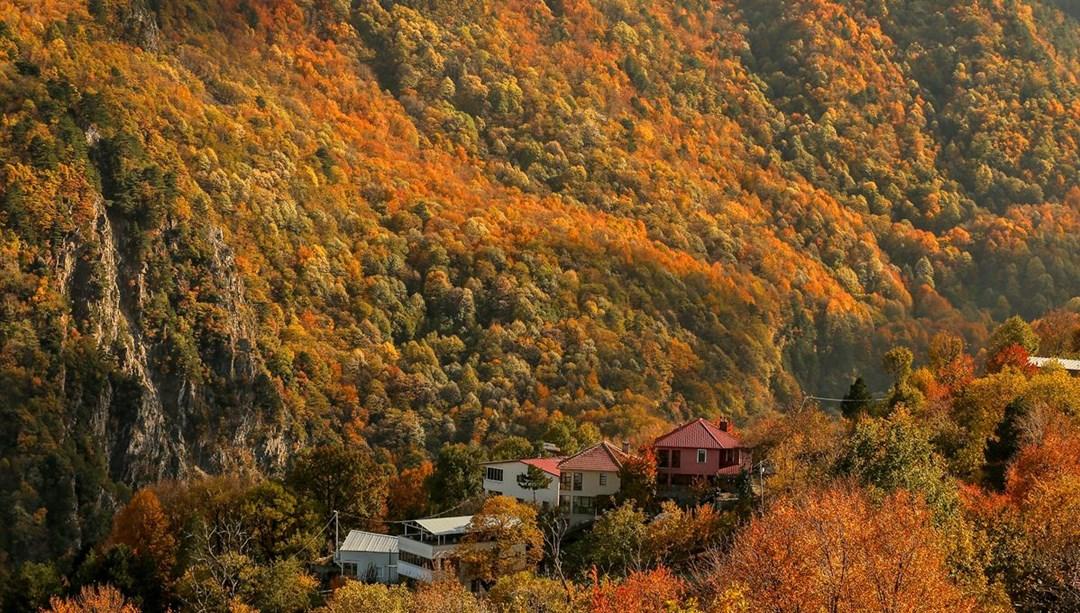 Bursa'da 'Çalıkuşu'nun köyünde' sonbahar güzelliği