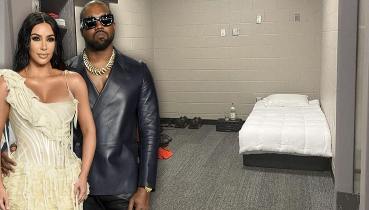 Kanye West yeni albümünü hapishane hücresine benzeyen penceresiz bir odada hazırladı