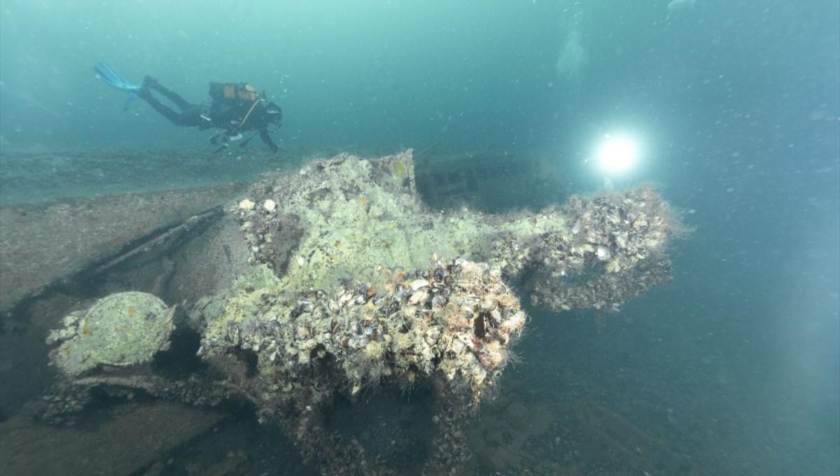 Kocaeli'nde 2. Dünya Savaşı'ndan kalma Alman denizaltısı dalış turizmine kazandırılacak
