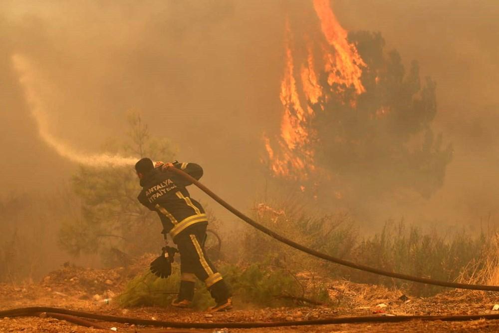 Balayını iptal edip yangınla mücadeleye koştu: Bana asıl şimdi ihtiyaç var - 7