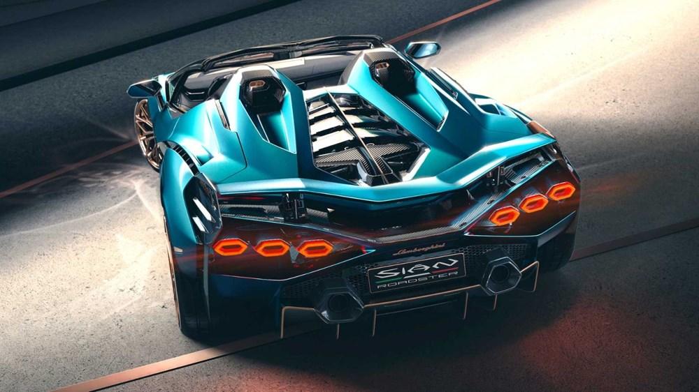 Lamborghini Sion Roadster tanıtıldı (Sadece 19 adet üretilecek) - 5