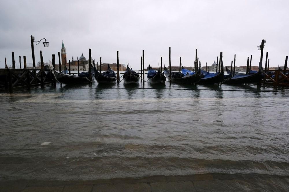 Venedik'te yine su baskını: Milyar dolarlık proje işe yaramadı - 5