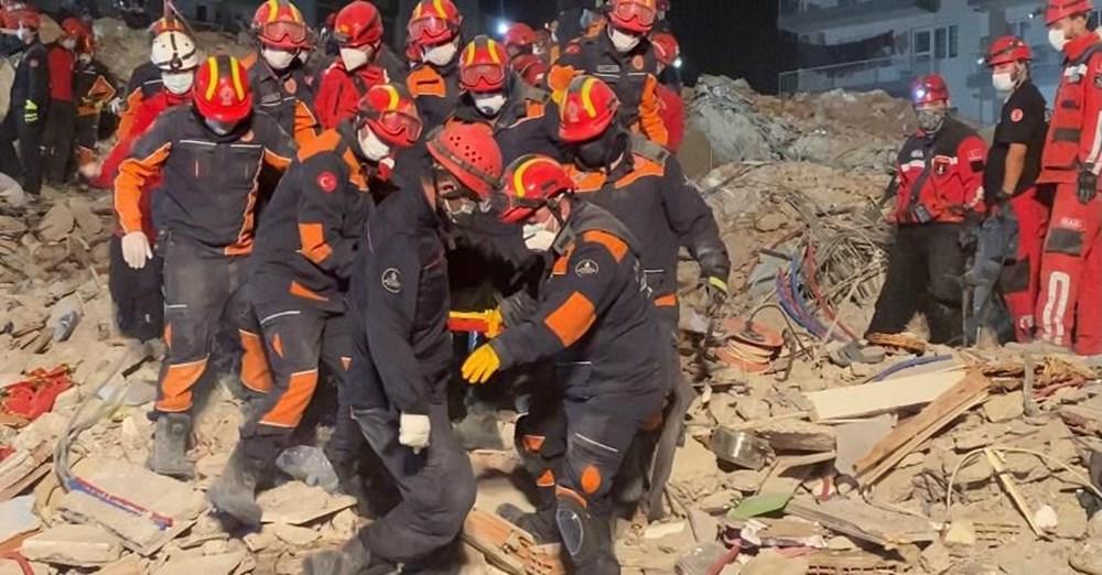 İzmir'de deprem sonrası enkaz altındakiler için zamana karşı yarış (58 saat sonra kurtarıldı) - 6
