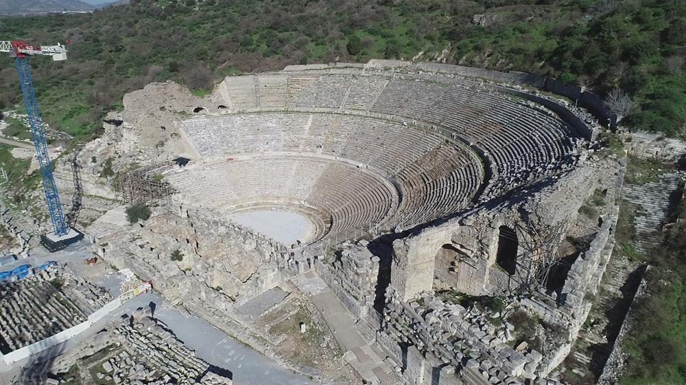 Efes Antik Kenti, pandemi döneminde de güvenli turizmin adresi oldu - 7
