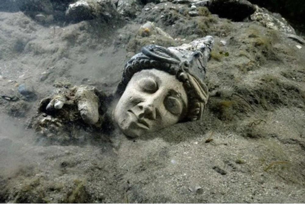 Mısır'ın Atlantisi'nde 2 bin 200 yıllık gemi enkazı bulundu - 9