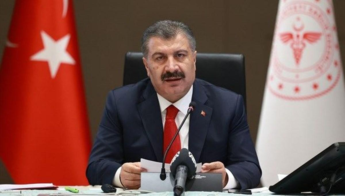 Sağlık Bakanı Fahrettin Koca: Yalnızca İstanbul'da yükseliş var
