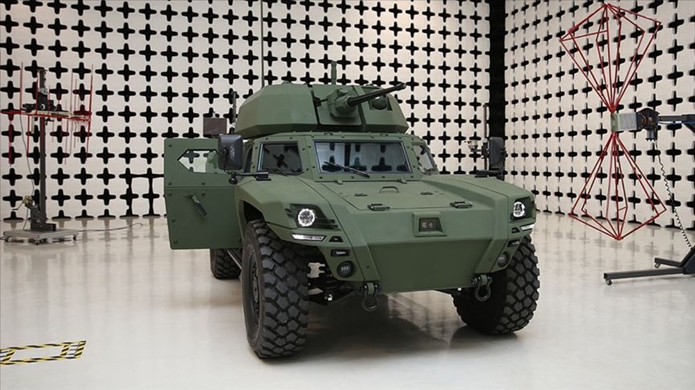 Silahlı drone Songar, askeri kara aracına entegre edildi (Türkiye'nin yeni nesil yerli silahları) - 115