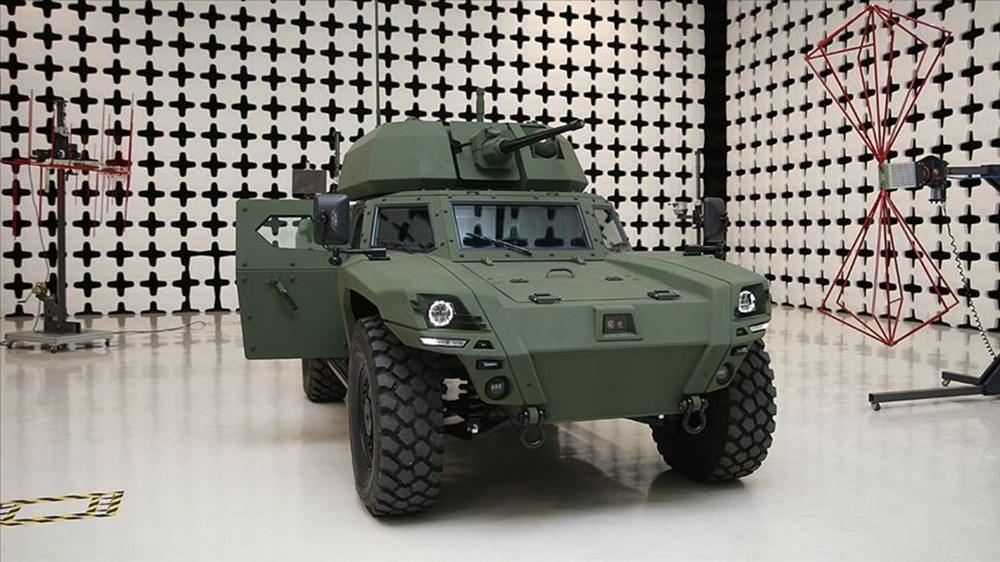 Dijital birliğin robot askeri Barkan göreve hazırlanıyor (Türkiye'nin yeni nesil yerli silahları) - 147