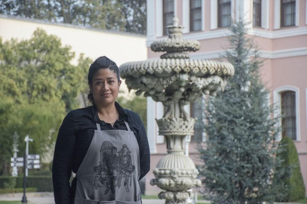 Meksikalı sanatçı Sofia Chavez'in Dolmabahçe Sarayı'na uzanan sanat yolculuğu - 3