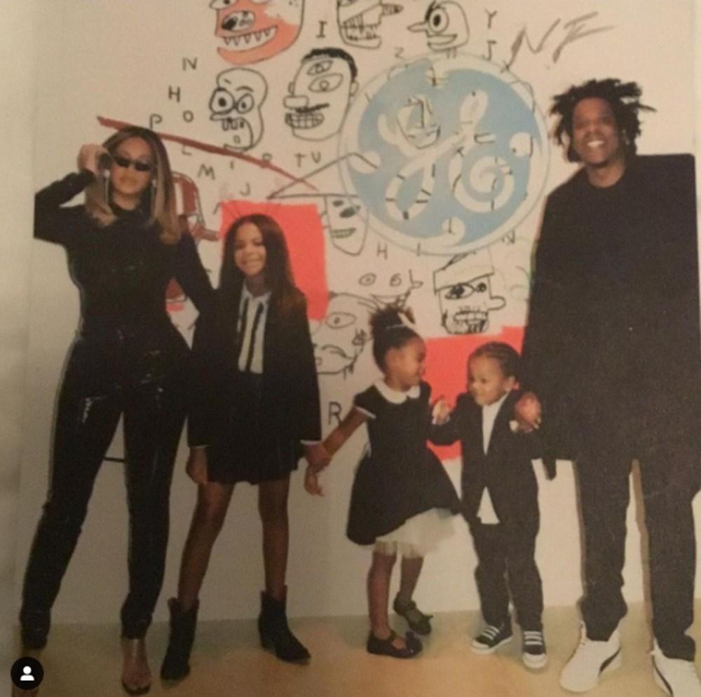 Beyonce'den yeni aile fotoğrafı - 1