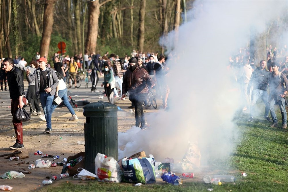 Police intervened when the festival, which was announced as April 1 joke in Belgium, turned into reality - 12