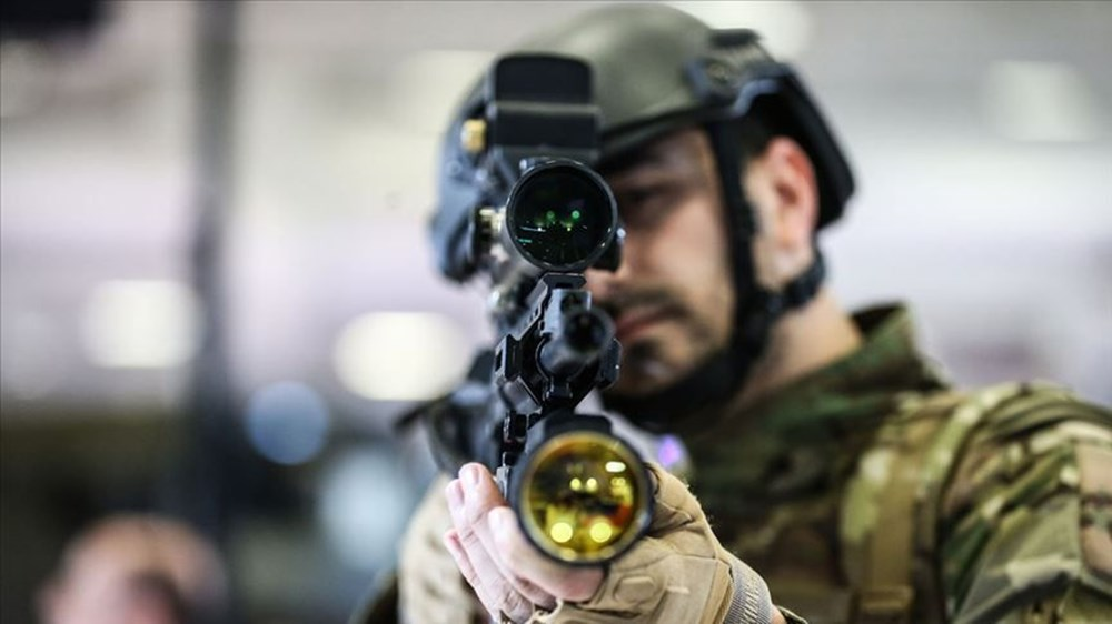 Dijital birliğin robot askeri Barkan göreve hazırlanıyor (Türkiye'nin yeni nesil yerli silahları) - 113