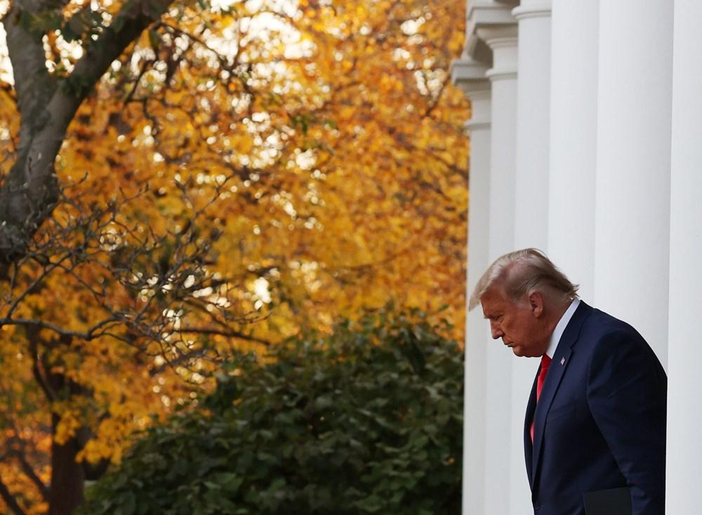 Seçim sonrası konuşan Donald Trump'ın sözlerinden çok saçları dikkat çekti: 10 günde yaşlanmış - 4