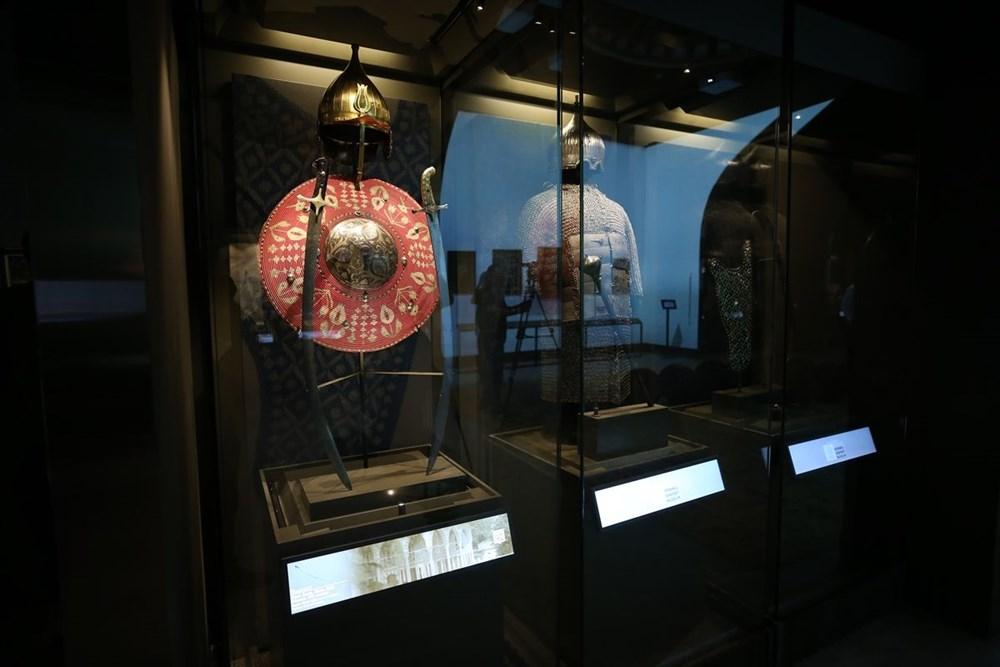 İstanbul Havalimanı Müzesi 'Türkiye'nin Hazineleri-Tahtın Yüzleri' sergisiyle açıldı - 3