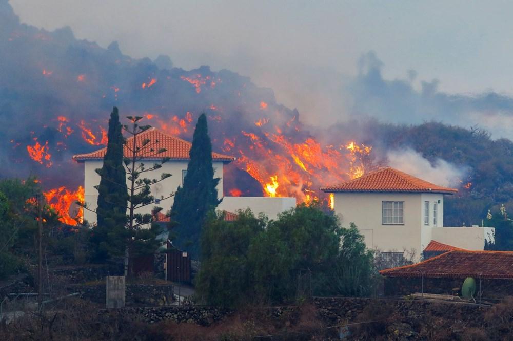 Kanarya Adaları'nda aktif hale gelen yanardağda patlamaların şiddeti arttı - 5