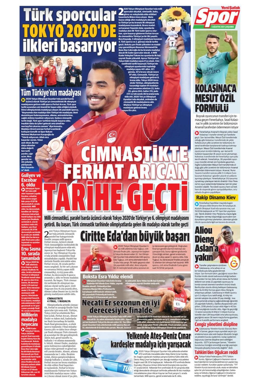 Günün spor manşetleri (4 Ağustos 2021) - 18