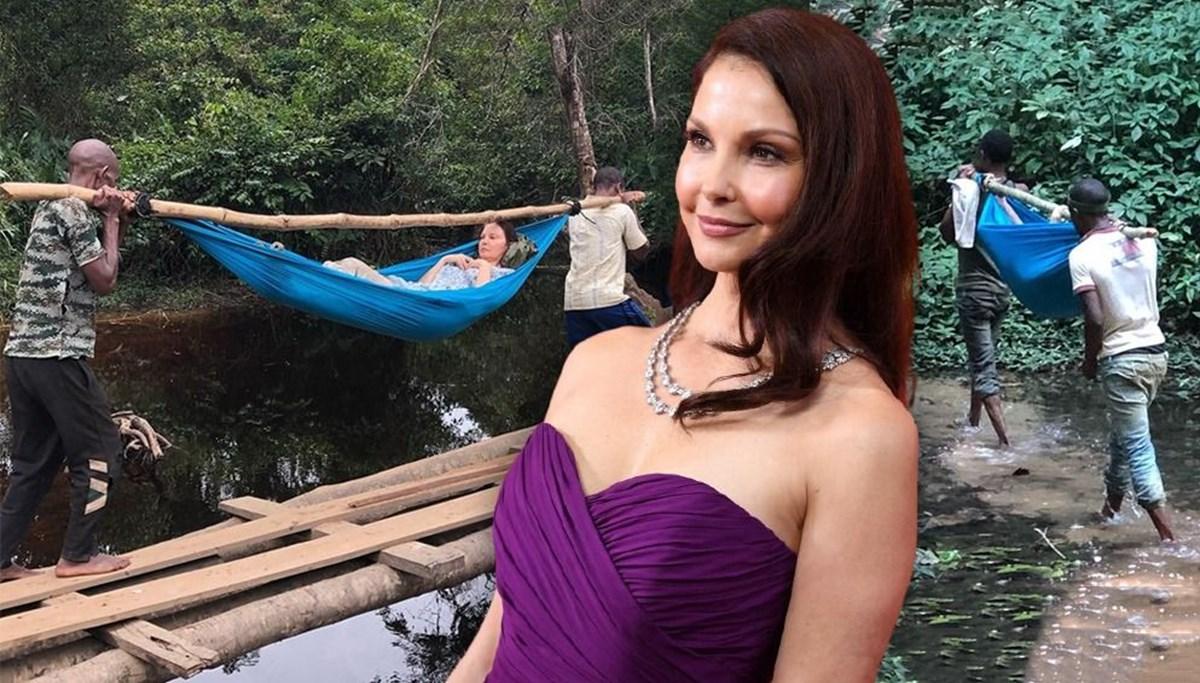 Film gibi operasyonla kurtarılan Ashley Judd tedavi sürecini paylaştı