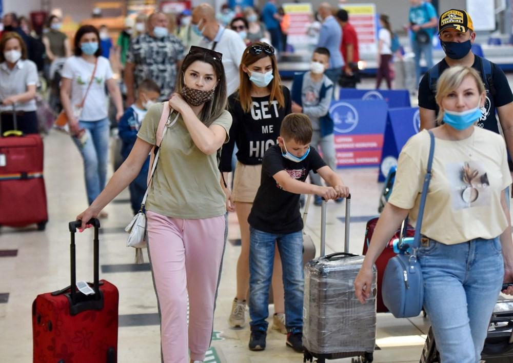 Kapılar açıldı, Ruslar akın akın geliyorlar! Rusya'dan hava trafiği yüzde 45 arttı - 2