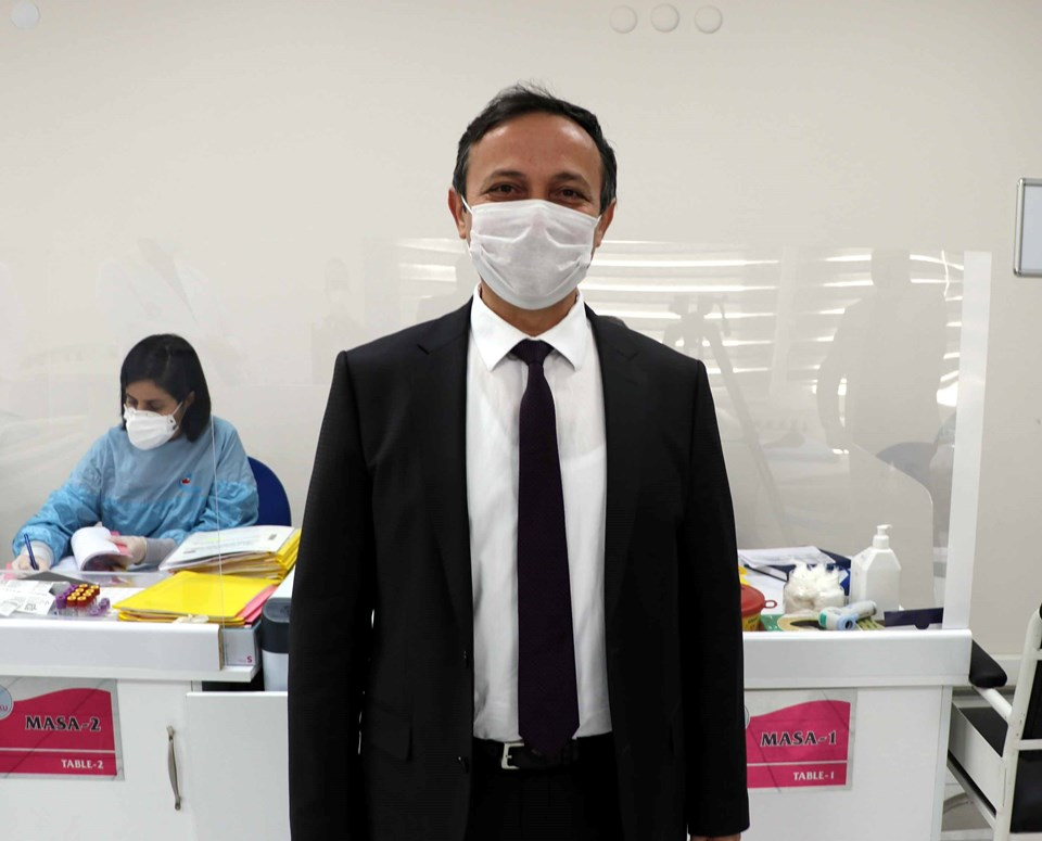 ERÜ Rector Prof.  Dr.  Mustafa Calis