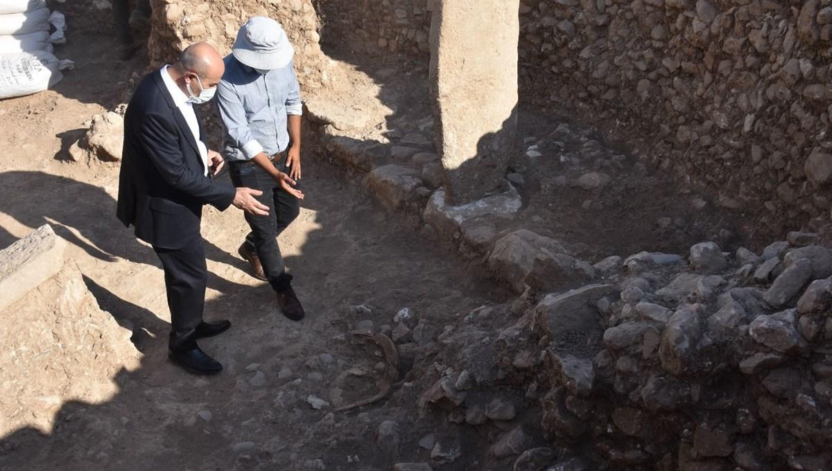 Mardin'de 12 bin yıllık tapınak gün yüzüne çıkarıldı