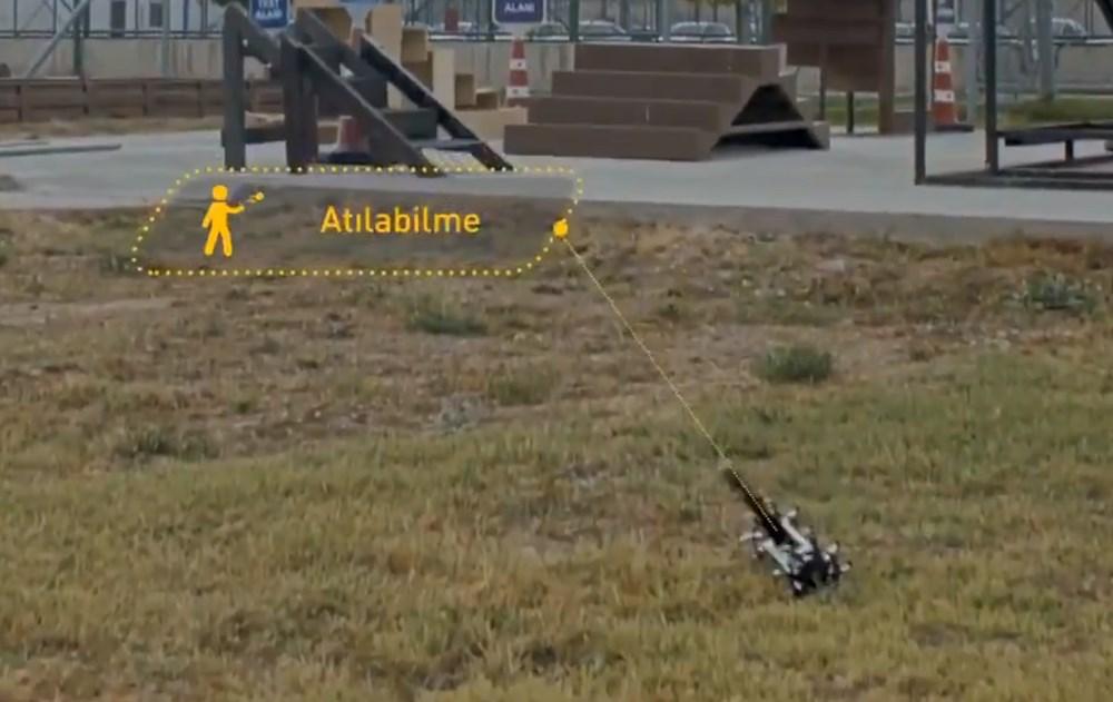 Dijital birliğin robot askeri Barkan göreve hazırlanıyor (Türkiye'nin yeni nesil yerli silahları) - 106