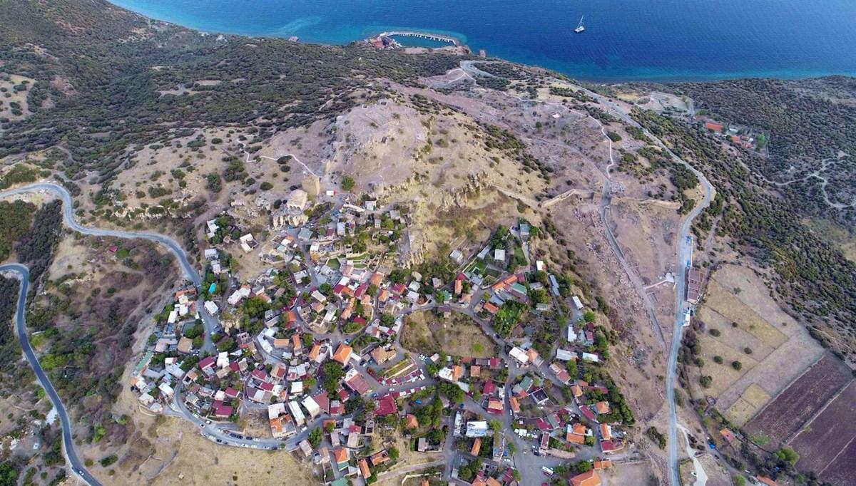 Yaşam 4 bin yıldır devam ediyor: 'Ölümsüz kent Assos'a ziyaretçi akını