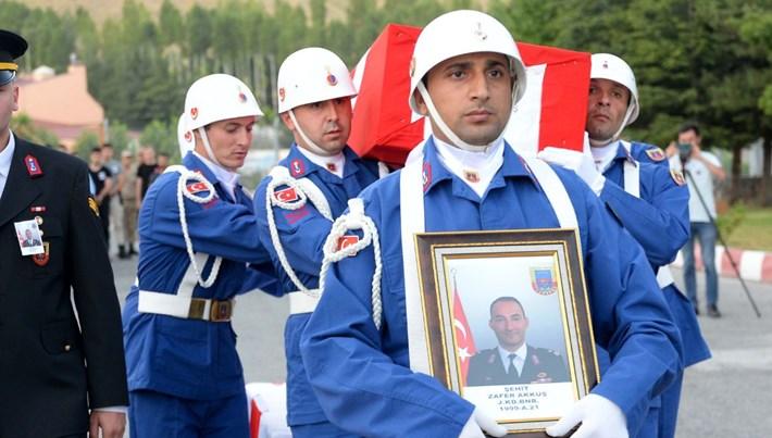 Bitlis'te 1 binbaşı şehit