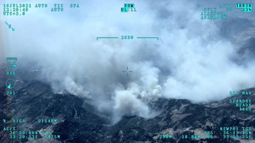 Hatay ve Mersin'de orman yangını - 7
