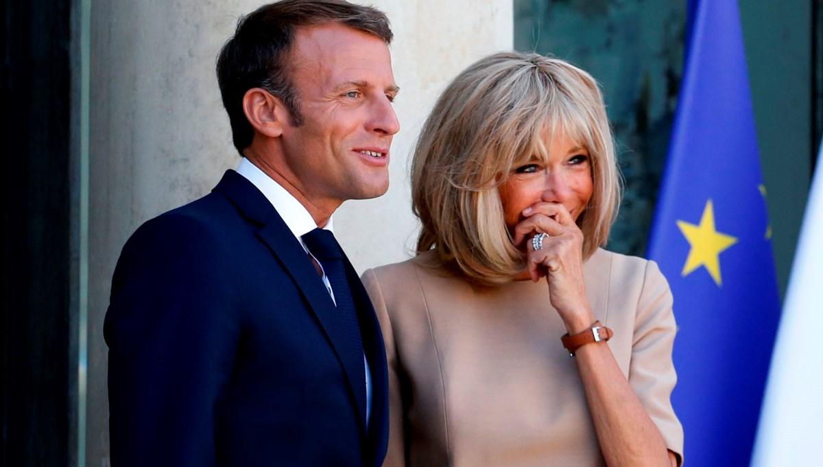 Emmanuel Macron ve eşi Brigitte Macron çiçek masraflarıyla gündemde