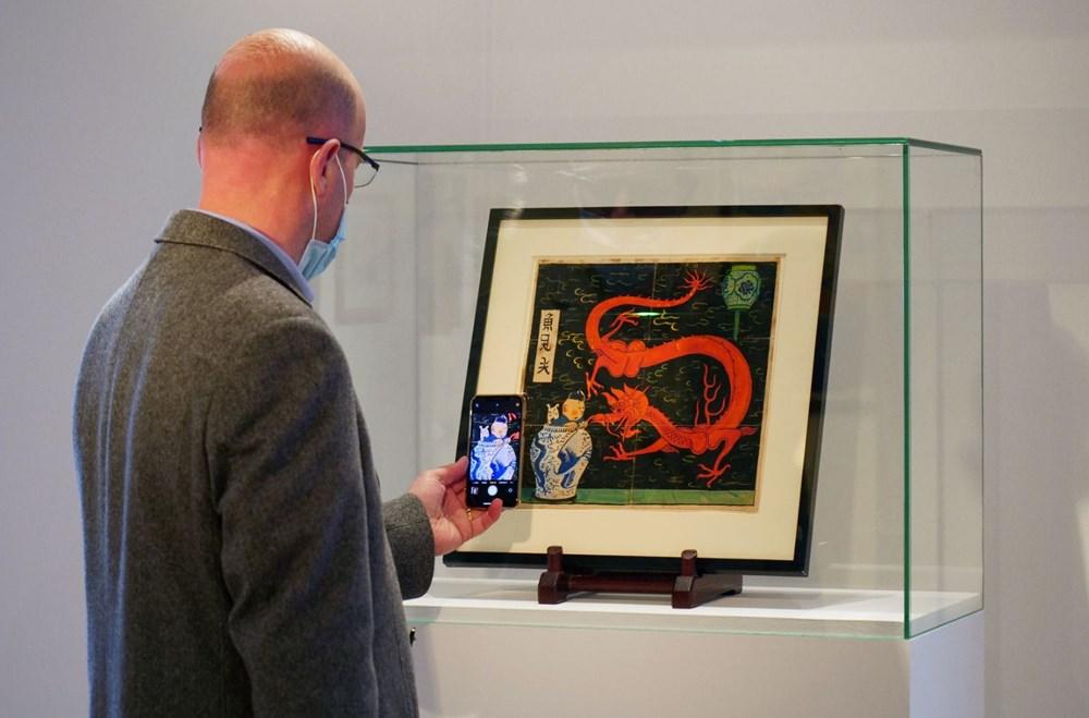 Herge'in Tenten çizimine Paris'te 2,6 milyon euro'luk rekor fiyat - 3