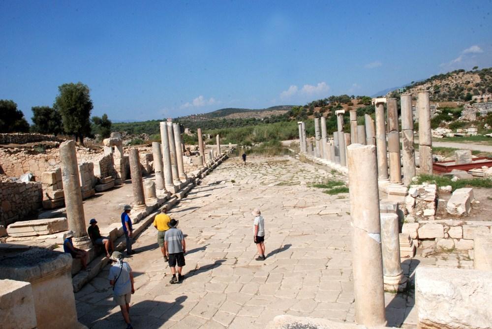 Patara Antik Kenti'ne çeyrek milyon ziyaretçi - 3