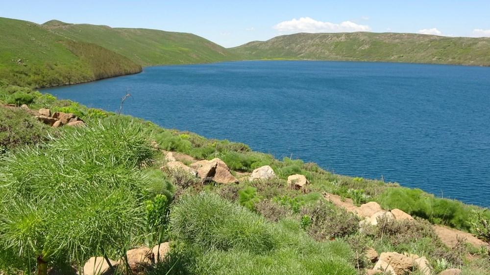 Muş'ta Hamurpet Gölleri görenleri doğasıyla mest ediyor - 8