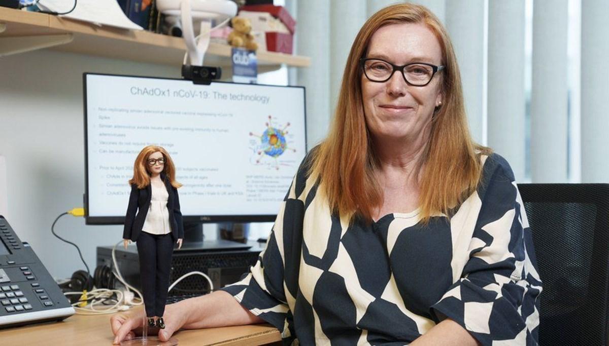 Barbie aşı uzmanı oldu: Oxford/AstraZenaca aşısını geliştiren Prof. Dr. Sarah Gilbert'ın oyuncak bebeği yapıldı