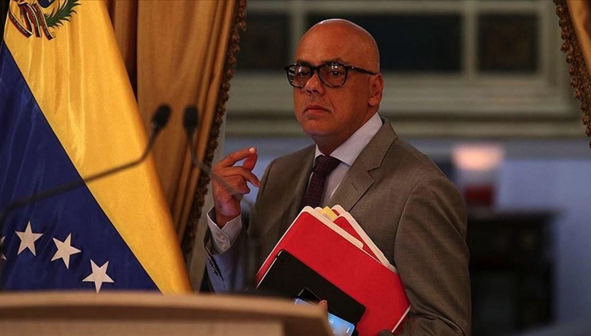 Venezuela Devlet Başkan Yardımcısı Rodriguez'de Covid-19 tespit edildi
