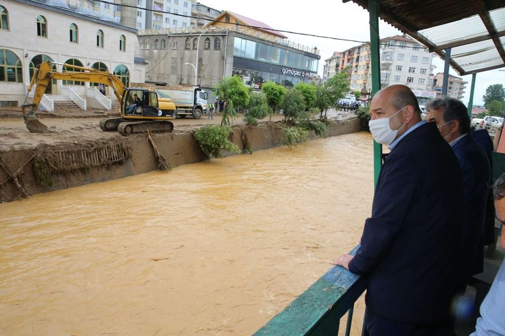Şiddetli yağış Rize'yi de vurdu: 2 can kaybı - 11