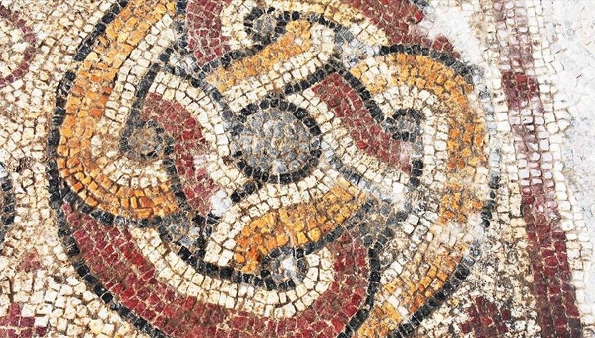 Stratonikeia Antik Kenti'nde bulunan 1600 yıllık mozaikler turizme kazandırılacak
