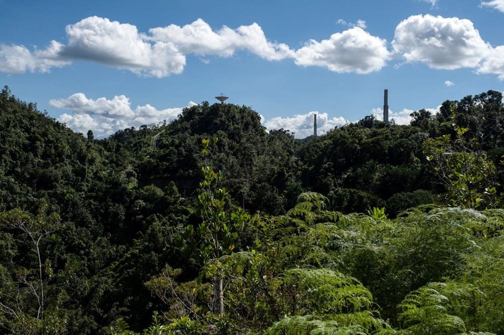 Porto Riko'daki Arecibo Gözlemevi çöktü - 3