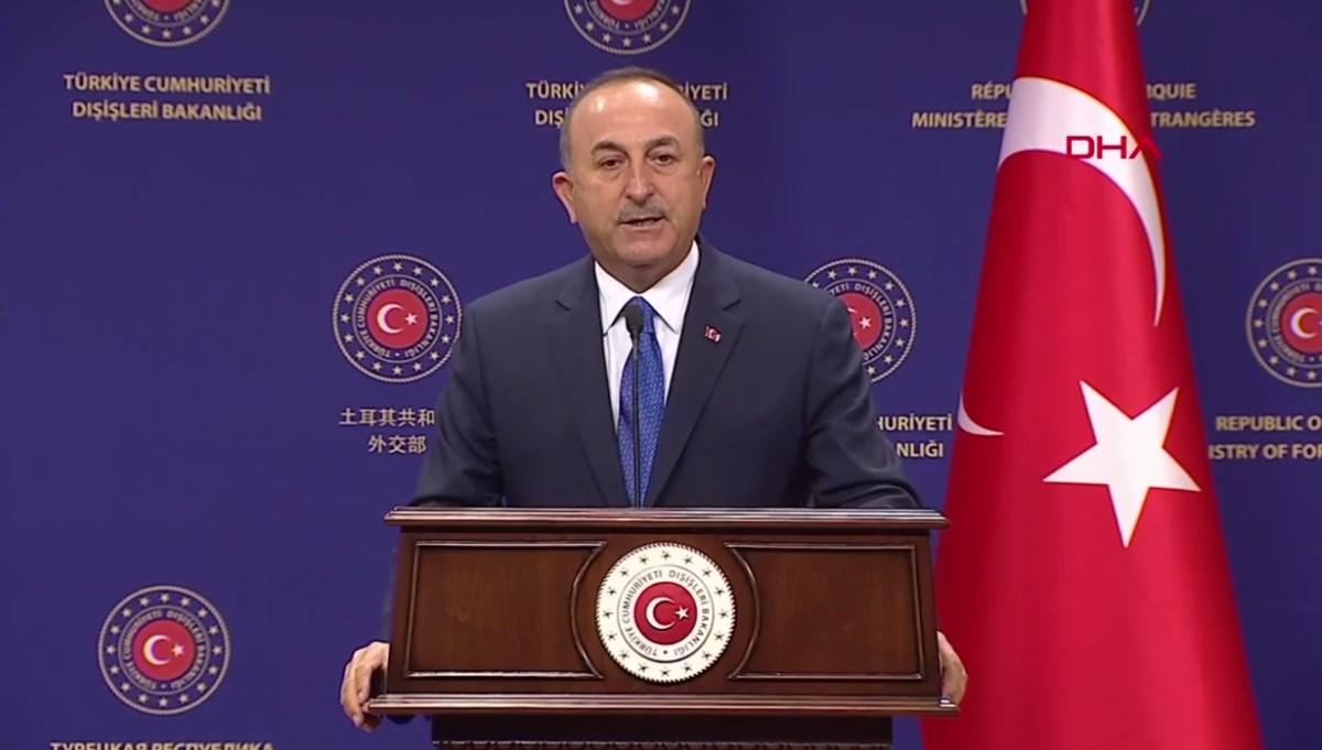 Bakan Çavuşoğlu: Limiti aşan silahlandırmalar olursa kaybeden Yunanistan olur