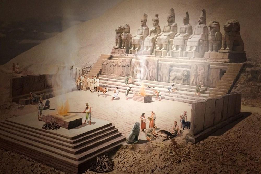 Kralların ve tanrıların taşlaştığı yer Nemrut - 2