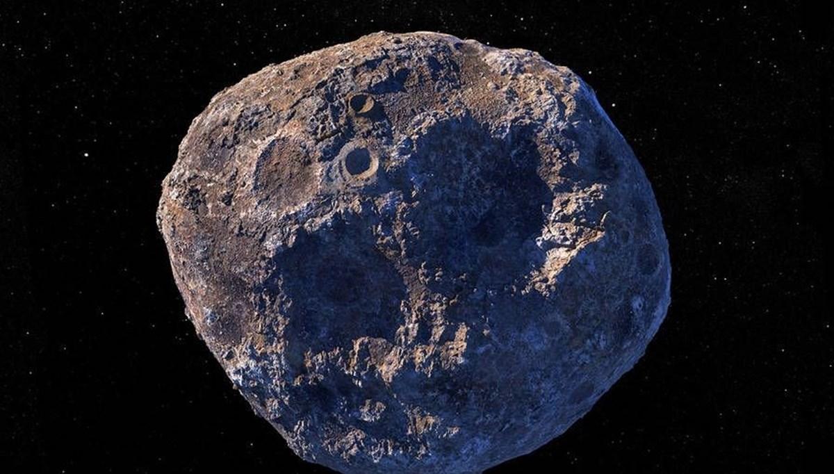 NASA, Dünya'dan değerli asteroite gidiyor: 10 kentilyon dolarlık 16 Psyche