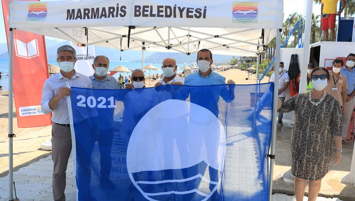 Blue flag Marmaris beaches await holidaymakers