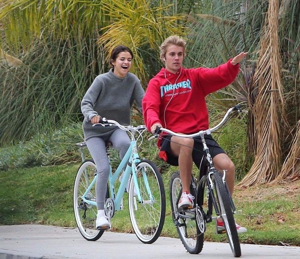 Gomez ile Bieber'ın ilişkileri 6 yıldır bir dargın bir barışık devam ediyor.