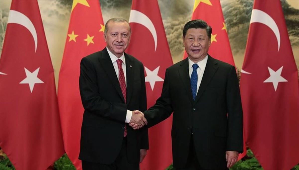 SON DAKİKA: Cumhurbaşkanı Erdoğan, Çin Devlet Başkanı'yla görüştü