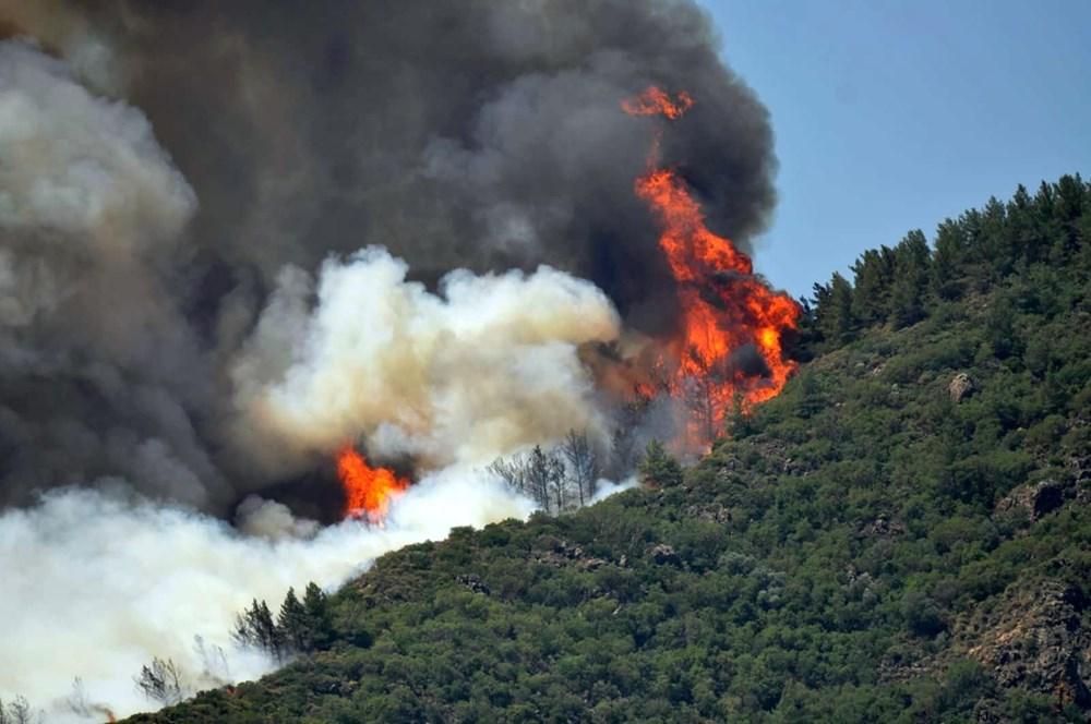 Marmaris'teki orman yangınından acı haber - 5