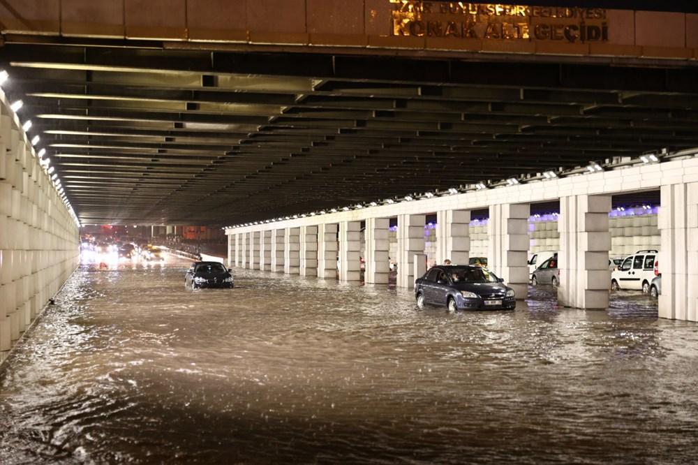 İzmir'i sel vurdu: 2 can kaybı - 21