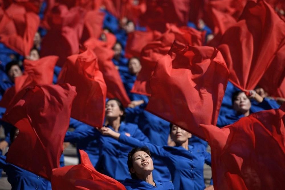 Kuzey Kore tarihi geçit törenine hazırlanıyor - 8