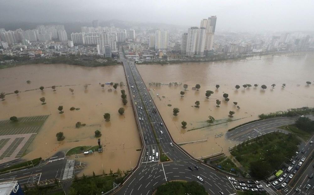 Japonya'nın güneybatısını vuran Haişen tayfununda 2 ölü, 100'den fazla yaralı - 2